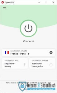 express vpn connecté