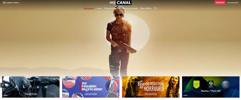 regarder Canal plus a l etranger