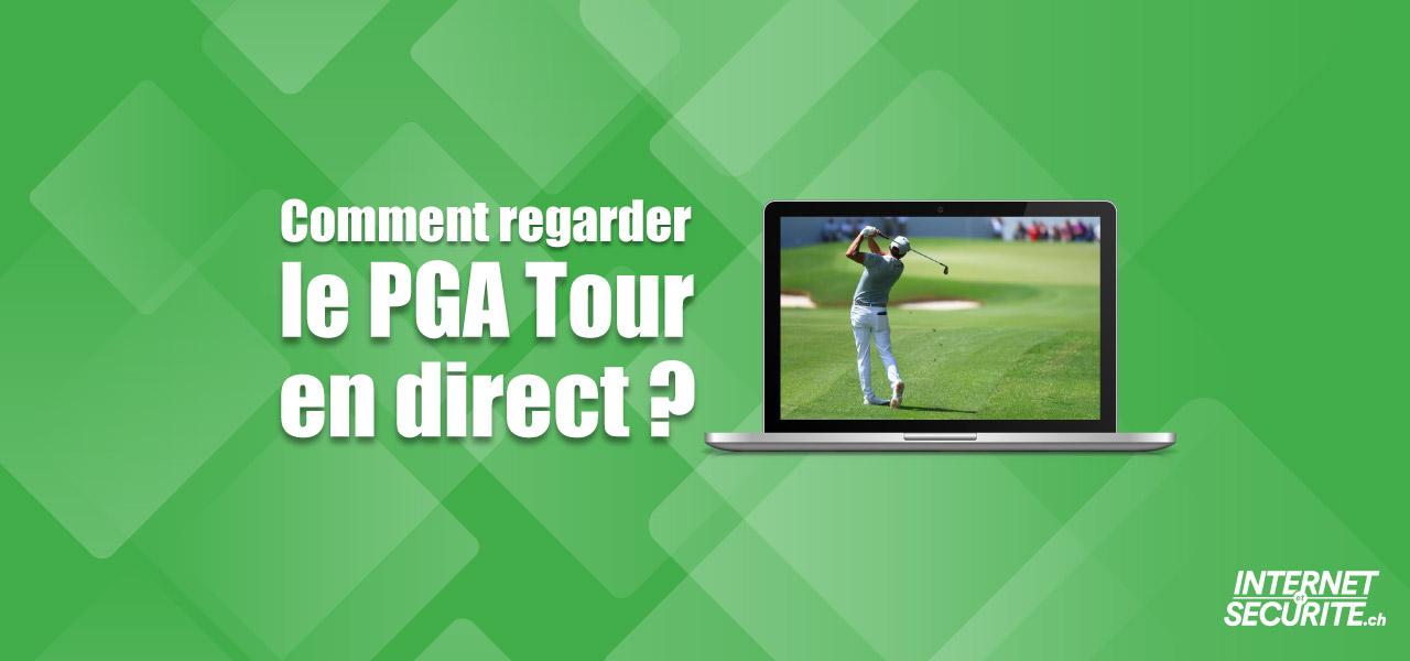 voir golf pga en direct