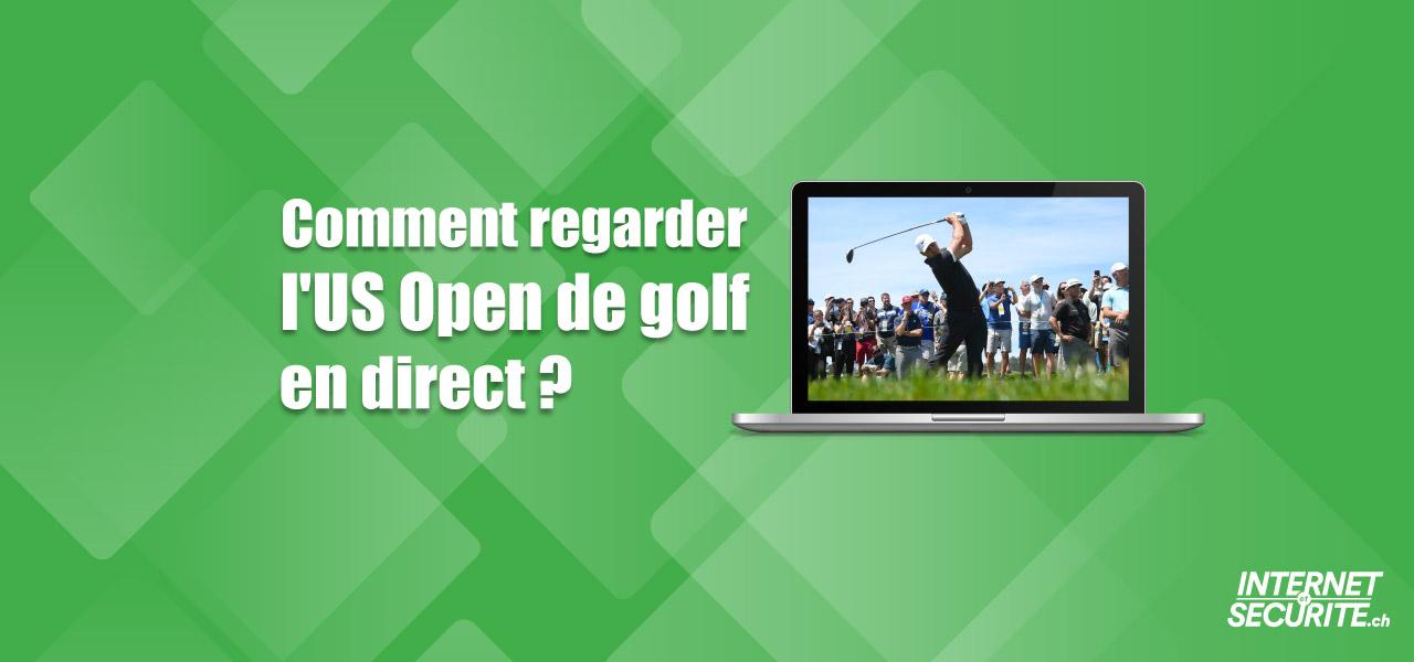 voir us open golf direct